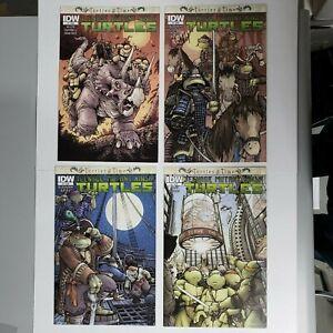"""Teenage Mutant Ninja Turtles """"Turtles in Time"""" 1 2 3 4 Complete run IDW TMNT NM-"""