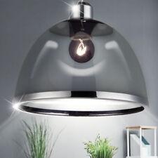Decken Lampe Pendel Hänge Retro Design Leuchte schwarz Wohn Schlaf Ess Zimmer