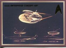 Star Trek 50th Anniversary TOS Enterprise Concept Art Chase Card E5