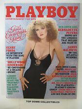 Playboy Vintage Magazine  Dec. 1981   Patricia Farinelli POTM