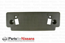 Genuine Nissan Murano 2008-2010 Front License Plate Bracket NEW OEM