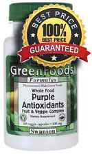 Whole Food Purple Antioxidants Fruit & Veggie Complex 400 mg 60 Veg Caps