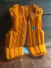 GRUMMAN Vintage Buoyant Canoe Vest Adult Medium Life Jacket Preserver Mod944