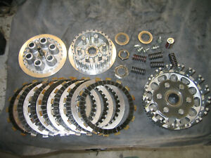 83 84 IT490 COMPLETE LOW HOUR CLUTCH ASSY PRIMARY GEAR BASKET PRESSURE BOSS NICE
