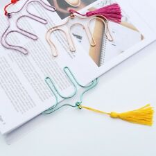Novelty Hollow Colors Electroplated Metal Paper Clips Music Book Clip Bookmark