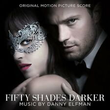 FIFTY SHADES DARKER (Danny Elfman Score)   (CD) Sealed