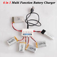6 in1 Multi Function Battery Charger For Syma X5SW X5SC Hubsan Quadcopter Drone