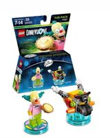 NEW Lego Dimensions The Simpsons Krusty The Clown & Clown Bike Fun Pack 71227