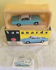 Lledo Vanguard  Ford Capri 109E Turquoise / white   boxed VA 34000