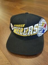 Vintage NFL Pittsburgh Steelers Snapback Cap Hat 1990s Rare OG Vtg
