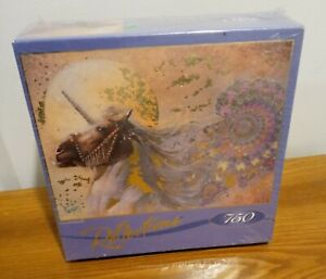 RoseArt Reflections 750 Piece Unicorn Puzzle by Denton Lund **FACTORY SEALED**