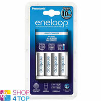 PANASONIC ENELOOP BASIC CHARGER BQ-CC51 + 4 RECHARGEABLE AA BATTERIES 2000mAh