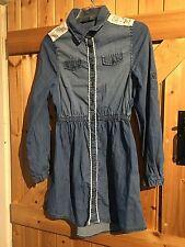 Girls Denim Dress Age13-14 Years Height 158-164cm Blue Denim Dress By George
