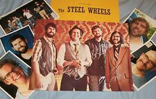 The STEEL WHEELS Autographed Photo & Photos --VERY HOT