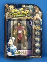 "Capcom's STREET FIGHTER by Resaurus Round 2 Player 2 CHUN-LI 7"" action figure"