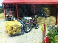 A3 Massey Ferguson 399 Tractor Poster Brochure Britains Farm 1/32 Diorama