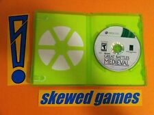 History Great Battles Medieval - XBox 360 Microsoft Game & Case