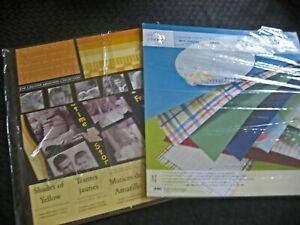 Creative Memories ORIGINAL Album Kit:  Little Boy and Shades of Yellow Partials.