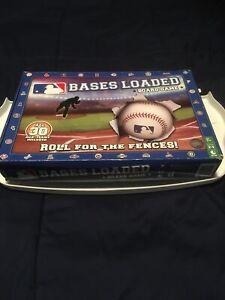 Bases Loaded Board Game 30 MLB Teams 2015 Baseball New Box is Dinged