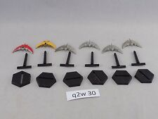 Babylon 5 Wars 2nd editon 6 Centauri Sentri Medium Fighters some paint (q2w 30)
