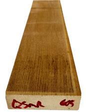 Quartersawn Roasted Maple 🍁Neck blk Strat-style🎸30 x 4 x 1.125 *CUSTOM SHOP*