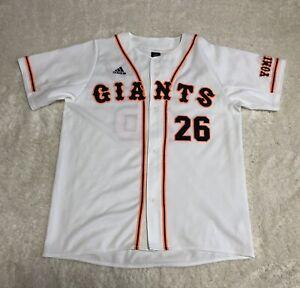 Tokyo Yomiuri Giants #26 Utsumi Baseball Jersey Men's Sz Large adidas Sewn White