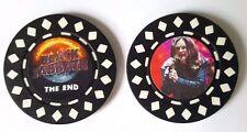 BLACK SABBATH THE END TOUR OZZY OSBOURNE POKER CHIP A Tony Iommi Geezer Butler