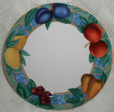 Victoria Beale Forbidden Fruit Dinner Plate Plates 10-3/4""