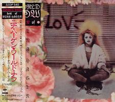 NINA HAGEN World Now - Best Of Nina Hagen RARE JAPAN CD OBI 32DP 540