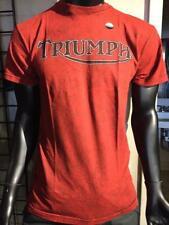 Triumph UHL Old School Rocker Men's T-Shirt, Small FREE SHIPPING IN U.S.!