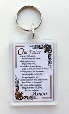 The Lords Prayer - Acrylic keyfob