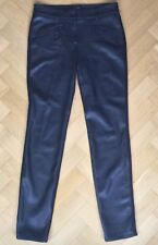Gerry Weber Edition Womens Black Faux Leather Roxane Trouser