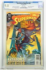 Adventures of Superman # 625 CGC 9.8  Dynamic Forces COA 30/49 DC