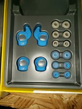 A1~NEW~Jabra Sport Coach Wireless Accessory Pack~earwings/eargels & bag~ Blue