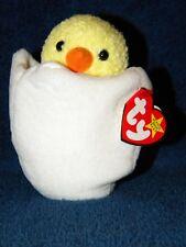 c2a9e8a276e Eggbert Chicken Egg TY Beanie Babies 1999 Retired Plush Stuffed Animal 5