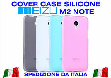 COVER Silicone Étui Meizu M2 NOTE Épaisse Coloré TPU GEL CASE Antichoc 3D