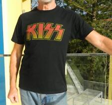 VINTAGE KISS Edgy Rocker Retro T-Shirt