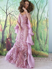 """Tonner 16"""" Tyler Sydney Wentworth Plum Lace Gown & Heels, Gorgeous!! No Doll"""