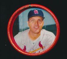 1963 Salada BASEBALL COINS (Metal) #15 KEN BOYER (St Louis Cardinals)