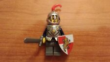 Lego Minifigures Castle, Knight with Sword, Shield and Armor, A09