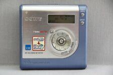 Sony Hi-MD MiniDisc Walkman - Blue MZ-NH700 Good Condition Working Good