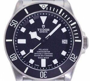 Tudor Pelagos Black Steel/Titanium Watch 42mm Ref#M25600TN-0001