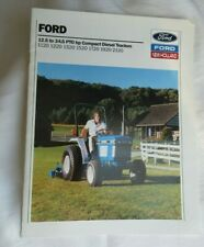 Ford New Holland 1120 1220 1320 1520 1720 1920 2120 Tractor Brochure
