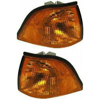 Fits 1992-1999 BMW 318i Pair Park/Signal Light LH and RH Side Convertible