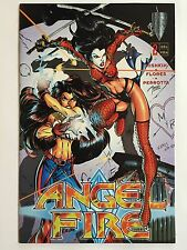 ANGEL FIRE #2 (Aug 1997, Crusade Comics) SUPER-SEXY HUMAN TACTICAL WEAPON!!!