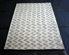 Hand-Woven Wool Kilim Area Rug, Carpet Rug,Zig Zag Designer Carpet, Rug for Gift