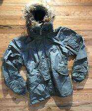 Vtg 50s 60s Usaf Stencil N-3B Heavy Aircrew Jacket Parka Flight Hood Military