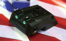 1911 Colt Dovetail Fully Adjustable Fiber Optic Rear Sight