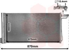 Kondensator, Klimaanlage für Klimaanlage VAN WEZEL 18005485