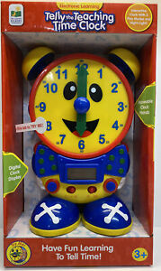 Telly The Teaching Time Clock. Interactive Clock With 2 Play Modes & night light